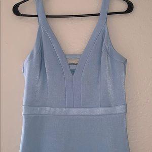 GUESS light blue dress